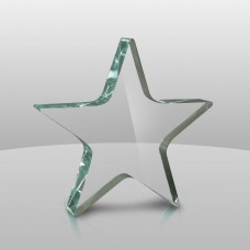 634 Acrylic Star Paperweight